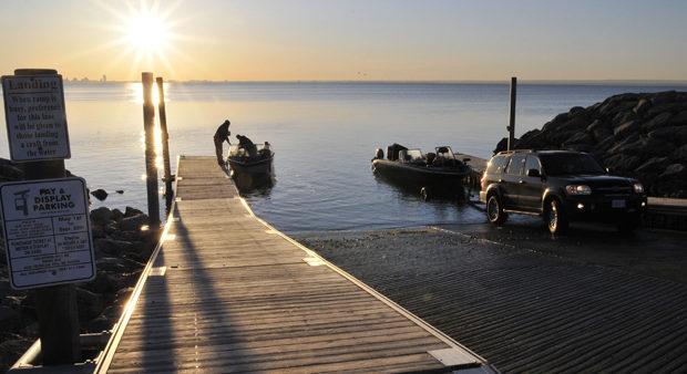 top notch fishing - fishing boats tied to a dock
