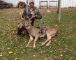 Luke got his first buck this season. He took it with a compound bow on Nov. 12 north of Arkona.