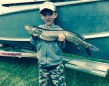 Tyson England of Parry Sound went fishing with his Sissy just after his 8th birthday and caught this 29-inch pike. It is his biggest fish yet. He caught the pike on 10lb. test line without a leader. Tyson is an OFAH member and avid outdoor enthusiast.