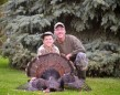 A great father/son moment from 2013. Liam Shea, 10, and his dad, Peter. Liam likes going out with his dad in the woods, even though he can't hunt yet.