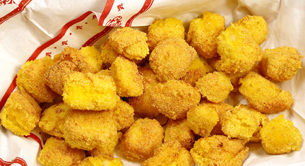 Golden Danish Walleye Nuggets