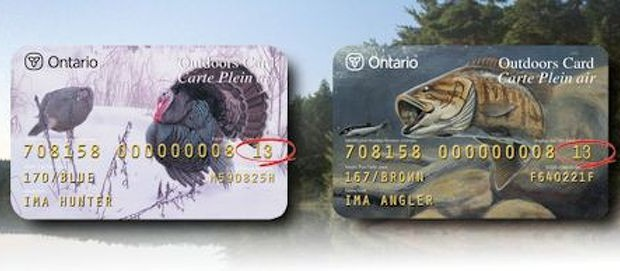 image of Ontario outdoors cards