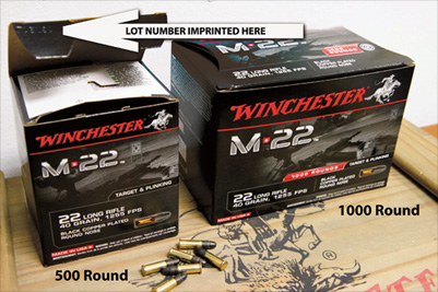 winchester product recall image