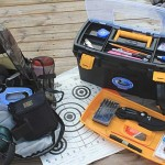 range bag and toolbox