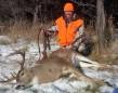 Gord Ellis and his 2014 Buck