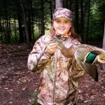 Waterfowl heritage day was a huge success for Makayla Zwicker age 12 from Burketon ON