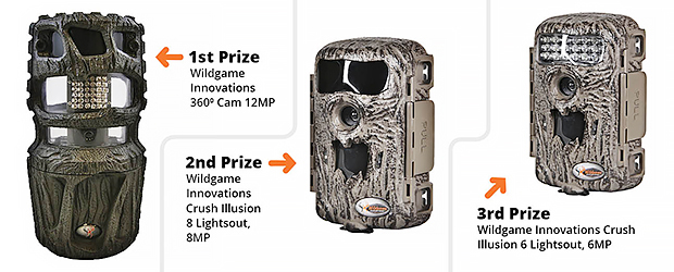 Trail cam prizes