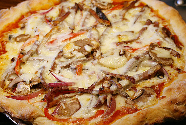 Deer pizza