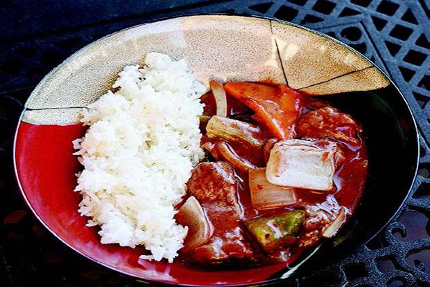 Thai Curry Venison