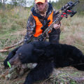 getting started - black bear and hunter