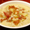 Pike and Cheese Chowder