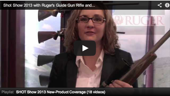 shot show 2013 - video screenshot of shot show 2012 video