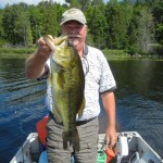 While fishing with my friend Bob in the Muskokas in 2013, Pete Hopkins landed this wonderful largemouth. It was one of his best.