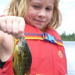 Shannon, 11, got this little guy while out fishing her dad one morning.