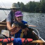 Andrew Ivany's daughter Raina caught her biggest fish on a Parry Sound area lake.