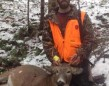 Andrew Scherrer's first deer and first big game animal was taken on Remembrance Day 2014. The 7-point buck was tagged at 11 a.m. in WMU 47, North of Parry Sound.