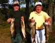 Cole Jacobson and grandpa Ken catching their limits