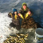 Jeremy and his son Dylan, 7, caught their limit for the year on Lake St. Clair this year. Jeremy says when Dylan comes out he gets the most fish, and the biggest.