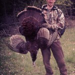 On his third ever turkey hunt, Evan stalked this 17 pound Jake for four hours on a farm near Uxbridge Ontario
