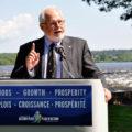 recreational fishing - man speaking at a podium