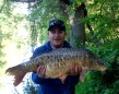 """Jason Clayfield with his biggest and """"ugliest"""" carp yet!"""