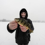 It might not be huge, but this perch was a persona best for Jeff Hart. It measured 11 inches.