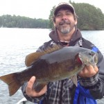 Mike Benzie caught this big fish on Eels Lake.