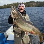 James Adler, from Sudbury, caught this monster lake trout during an annual May long weekend fishing trip with friends. It weighted in at 25 pounds and was 40 inches long. After snapping a couple of pictures, he released it, unharmed.