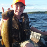 Dakota was out fishing with his dad when he caught this lake trout on Charleston lake.
