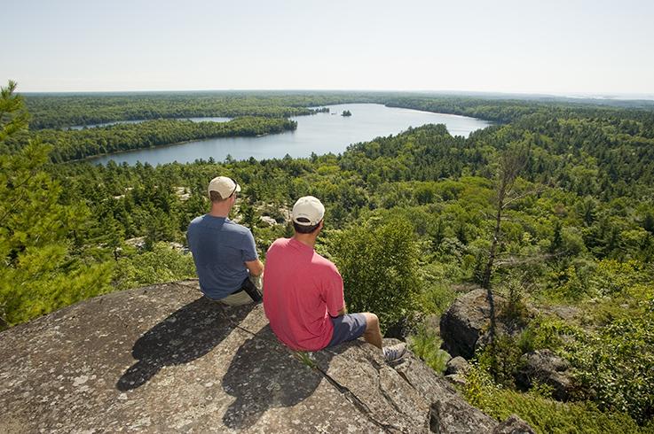 Overlooking Hastie Lake