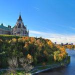 Scenic view of Ottawa River