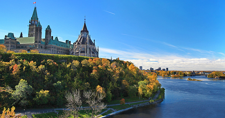 national conservation - Ottawa's - Scenic view of Ottawa River