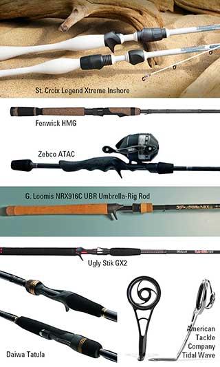 gear guide - fishing rods