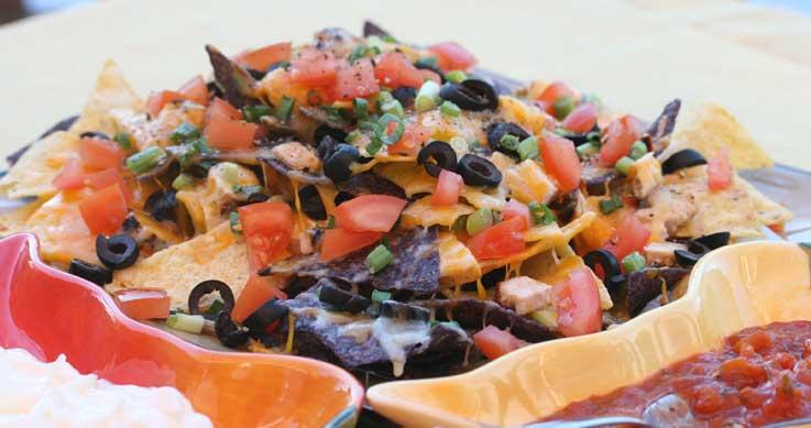 pheasant nachos