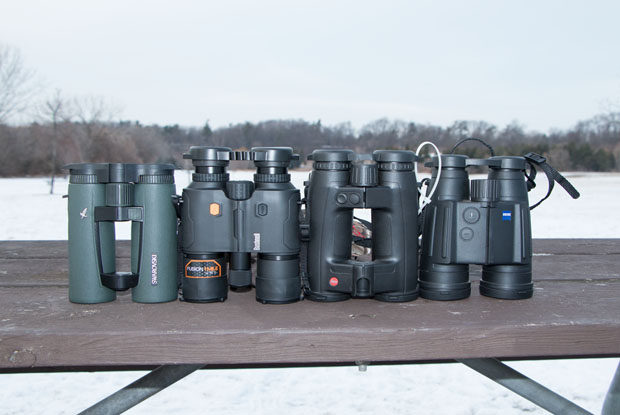Binoculars and rangefinders