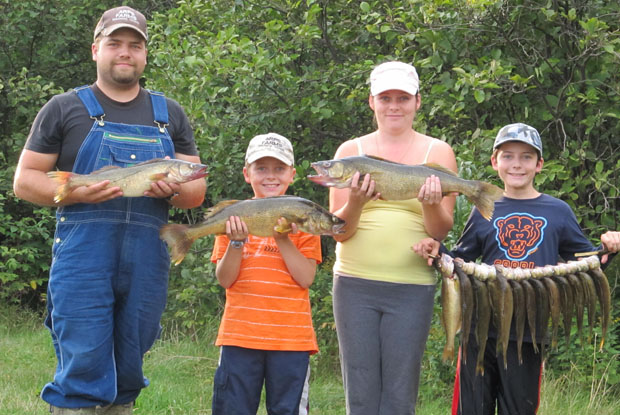 Walleye family