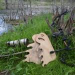 wood antlers