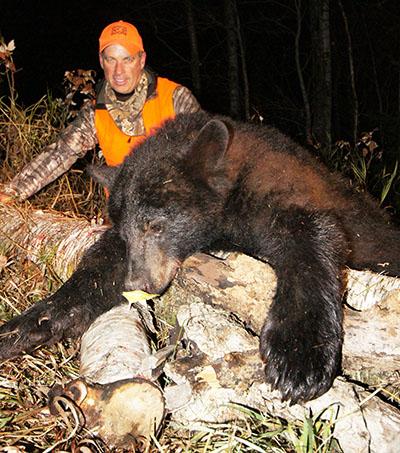 remember - Gord Ellis and his bear