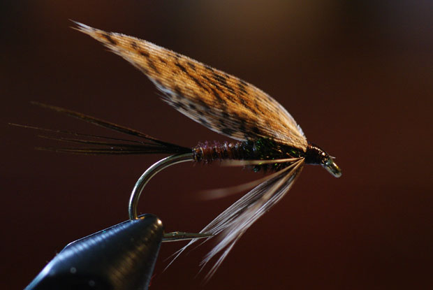 winter fly tying