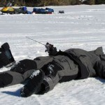 Planking on the ice