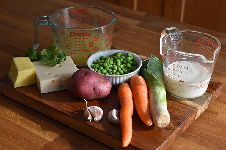 fish pies - ingredients