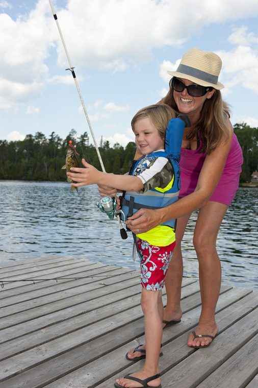 Temagami - family fishing