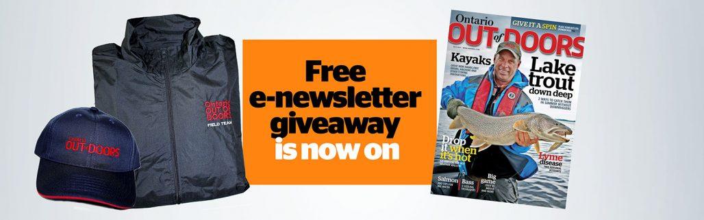 enewsletter giveaway - july