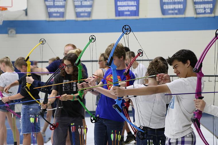 NASP - children at NASP fun day