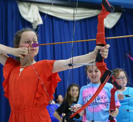 NASP - girl shooting arrow