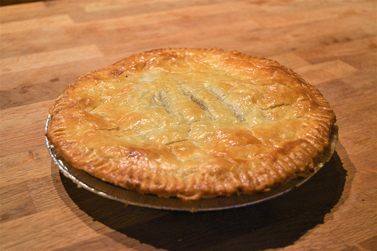 tourtiere - game meat