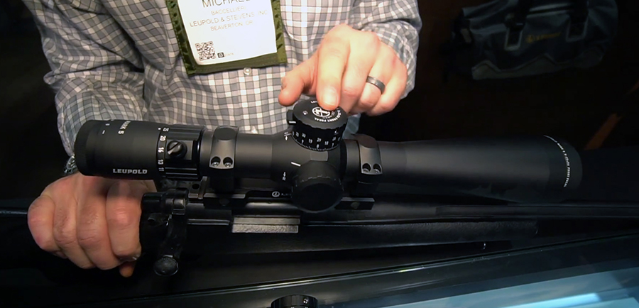 SHOT Show - Leupold optics
