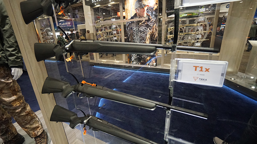 SHOT Show - Tikka rifle
