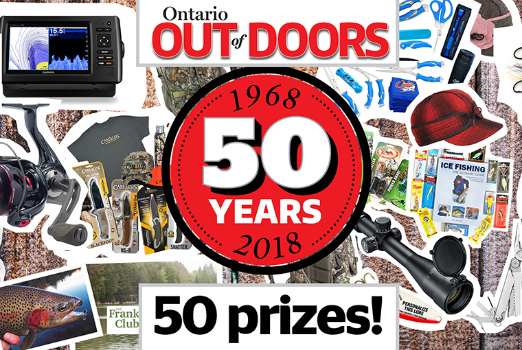 50th Anniversary giveaway contest